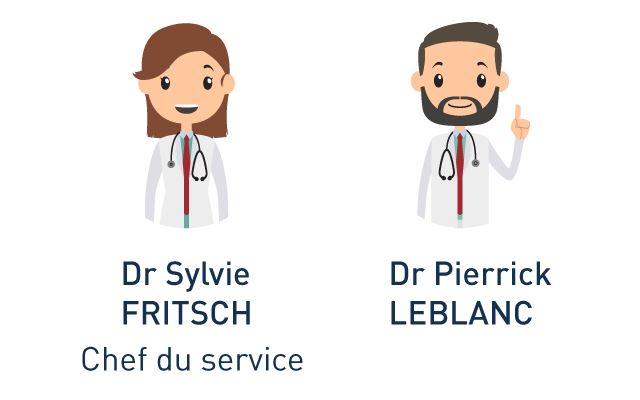 Sylvie Fritsch et Pierrick Leblanc hôpital J Ducuing chirurgie proctologie toulouse